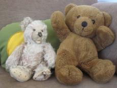Bamsen fra Beder og min bamse på 55år