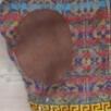 Fair Isle trøje med rullekrave