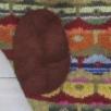 Trøje med persisk valmue