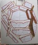 Step 01: Få formen placeret på lærredet